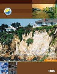 Pismo Beach (PDF) - Hazard Mitigation Web Portal - State of California