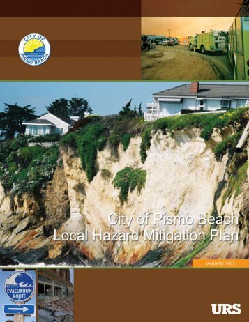 Pismo Beach (PDF) - Hazard Mitigation Web Portal - State of California