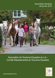 Association de Tourisme Equestre du Lot - Comité Départemental ...