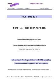 Tour - Info zu - Mediaculture online