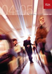 ANNUAL REPORT 2004–05 - V/Line