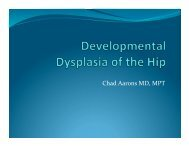 Developmental Dysplasia of the Hip - Bon Secours Richmond ...