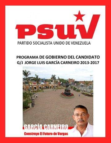 Programa de Gestión - Consejo Nacional Electoral