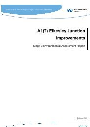 A1(T) Elkesley Junction Improvements - Highways Agency