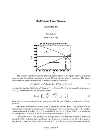 Chemistry 30l Phase Diagram Study Questions 1 Landgrebe Text