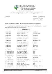 Assunzioni a tempo determinato scuola primaria - USP di Piacenza