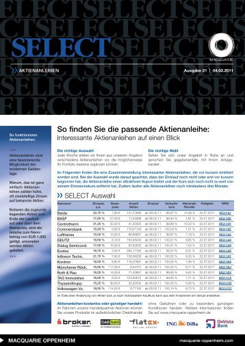 Select - Infoboard