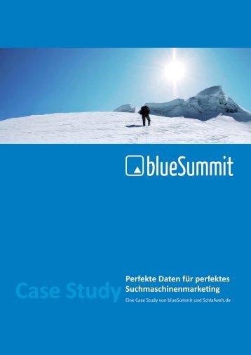 Case Study Schlafwelt - Blue Summit Media GmbH