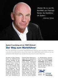 (PDF) »Erfolg mit System - Franchise System Beratung® - Johannes ...