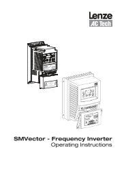 Operating Instructions SMVector - Frequency Inverter - alexandris.gr