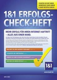MEhr Erfolg für IhrEn IntErnEt-AuftrItt – AllEs Aus ... - 1&1 Internet AG