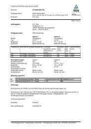 TEILEGUTACHTEN nach §19(3) StVZO Nummer 07-0460-A00-V01 ...