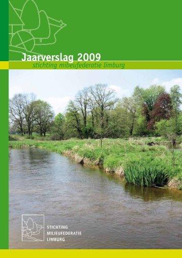 Jaarverslag 2009 - De Natuur en Milieufederaties