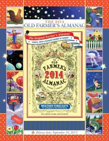 q Release date: September 10, 2013 - Old Farmers Almanac