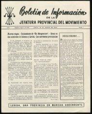 provincia una jefatura provincial del movimiento - Sol-Torres