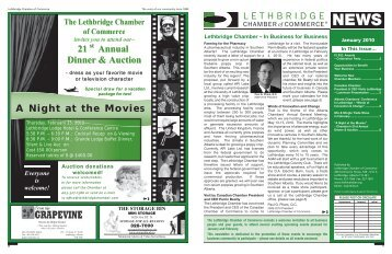 January 2010 - Lethbridge Chamber of Commerce