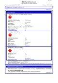 Käyttöturvallisuustiedote - HL Group - Page 7