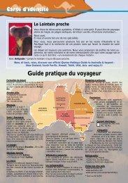 Guide pratique du voyageur - Antipodes
