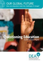Our Global Future - how can education meet the challenge ... - Niace