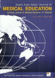 Untitled - South East Asian Journal of Medical Education