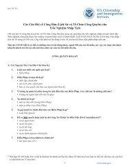 Các Câu Hỏi về Công Dân (Lịch Sử và Tổ Chức Công Quyền) cho ...