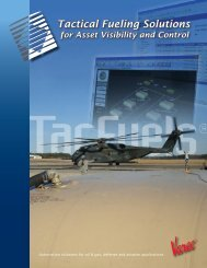 Tactical Fueling Solutions - Military Systems & Technology