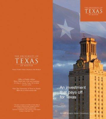 University of Texas at Austin - tbed