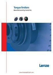 Torque limiters - ComInTec:Torque Limiters - Industrial Clutch Parts ...