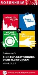 City-Guide - Die Einkaufs