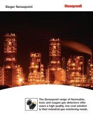Sieger Sensepoint - Honeywell Analytics