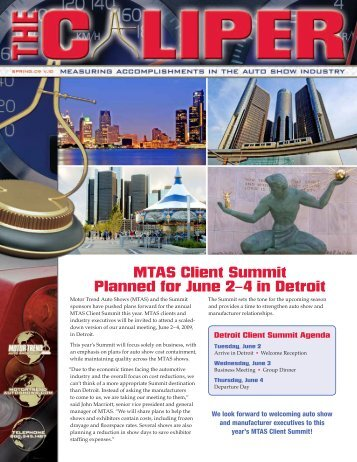 MTAS Client Summit Planned for June 2–4 in Detroit - Motor Trend ...