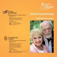 Alterstraumatologie Patienteninformation - Helfenstein-Klinik ...
