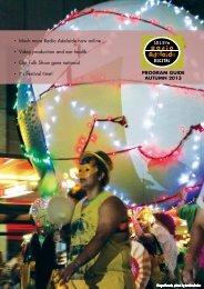 Current program guide - Radio Adelaide - University of Adelaide