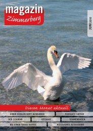 Ausgabe Juni 2010 - Zimmerberg-Magazin