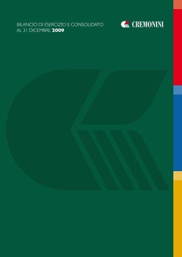 Bilancio di Esercizio e Consolidato - Gruppo Cremonini