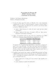 Prova Final de Finanças III IBMEC Business School ... - José Fajardo