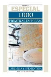 PRIMERAS EMPRESAS - Diario de Ibiza