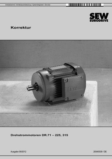 Korrektur - SEW Eurodrive