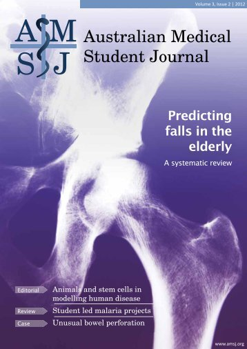 Download the issue - Australian Medical Student Journal