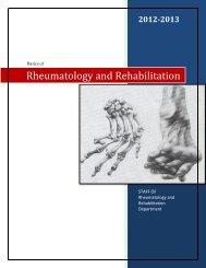 Rheumatology and Rehabilitation