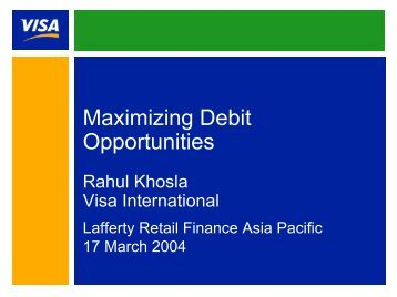 Presentation Title - Visa Asia Pacific