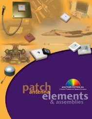 Patch Antenna Catalog - Spectrum Control