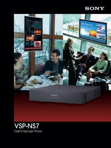 Thanks to the VSP-NS7 Digital Signage Player - ELVIA Display