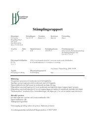 Stämplingsrapport - Hushållningssällskapet