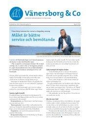 Vänersborg & Co Nyhetsbrev april 2012.pdf - Vänersborgs kommun