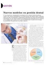 Nuevos modelos en gestión dental