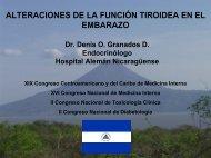 alteraciones funcionales tiroideas en el embarazo - Revista de ...