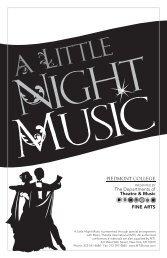 Night Music program.indd - Piedmont College
