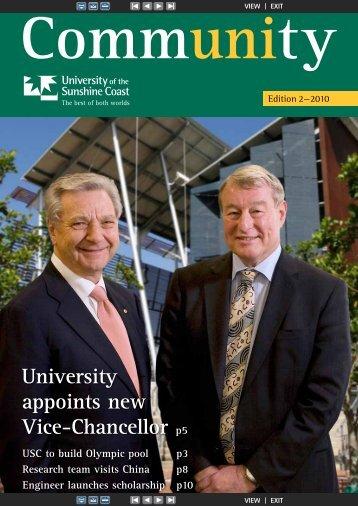 Edition 2, 2010 (PDF 2.1MB) - University of the Sunshine Coast