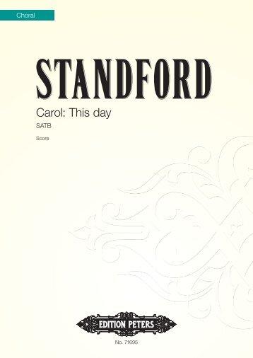 Carol: This Day